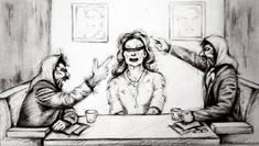 تکرار ادعاهای نهادهای حقوق بشری غرب علیه ایران در گالریهای با مجوز وزارت ارشاد/ وقتی یک محکوم امنیتی، برای فرهنگ مردم نسخه تجویز میکند!